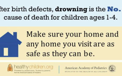 Drowning Prevention Day is Thursday, May 23, 2019.